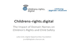 Childrens-rights.digital The Impact of Domain Names on Children's Rights	and Child Safety